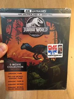 Jurassic World 5 Movie 4k Blu Ray Steelbook - 6 Cuotas S/int