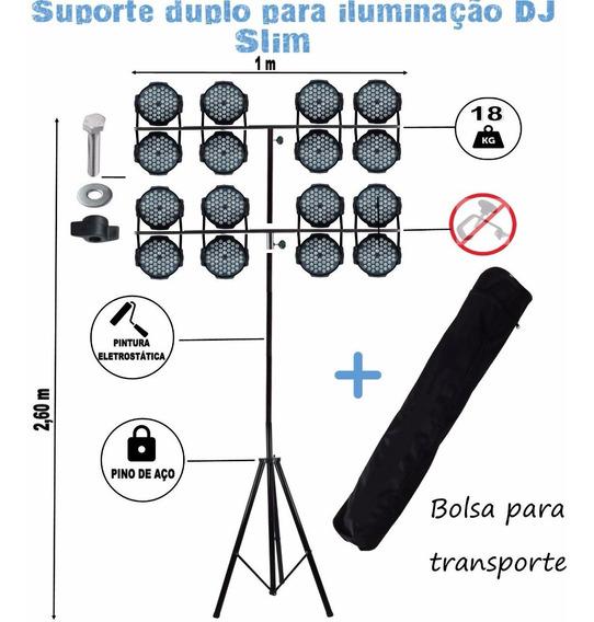 Pedestal Tripé P/ Iluminação Profissional Dj Modelo Tt +bag