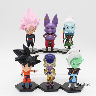 Muñecos Dragon Ball Z Cabezones Goku Vegeta Trunks Krilin Ce