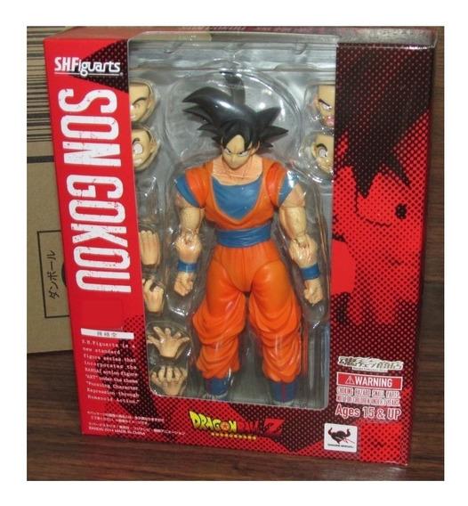 Boneco Son Goku Dragon Ball Z Com Defeito - Perna Colada