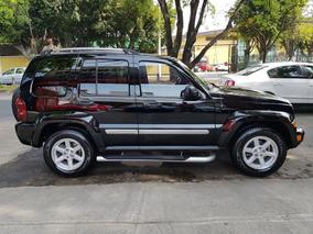 Jeep Liberty 2007 Limited Piel Fact Orig Acepto Auto