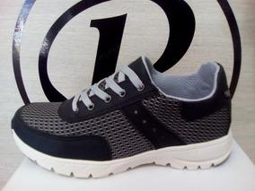 Zapato Deportivo Caballero Sintético Negro | ¡envío Gratis!