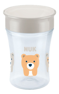Vaso Nuk Bebe Magic Cup 250 Ml 8 Meses 360 Vasito Involcable