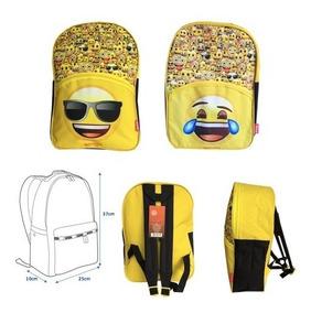 Mochila Emoji 2 Diseños Nuevas Originales $9500c/u