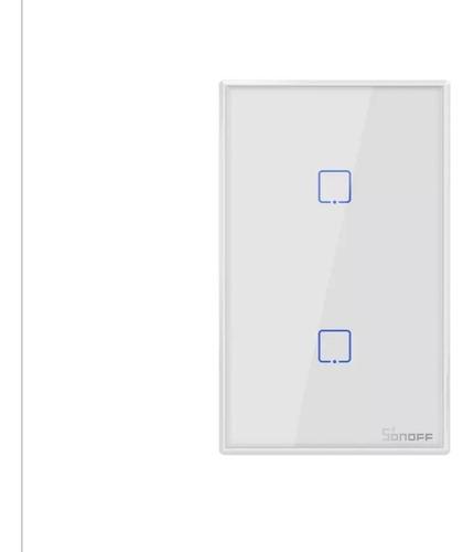 Interruptor Sonoff Wifi X2 Rect Ewelink, Alexa, Googlehome