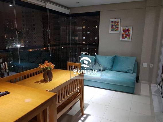 Apartamento Com 3 Dormitórios À Venda, 135 M² Por R$ 1.250.000,00 - Jardim Bela Vista - Santo André/sp - Ap13614