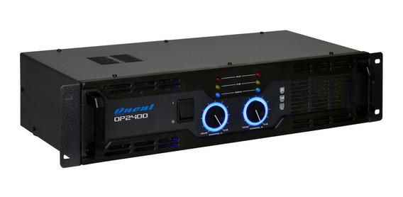 Amplificador Potencia Oneal Op-2400 400w 2 Canais - Bivolt