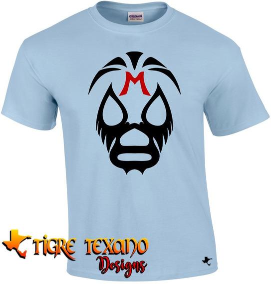 Playera Lucha Libre Mil Máscaras By Tigre Texano Designs
