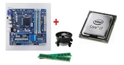 Kit Core I7 3770 + Gigabyte Ga-b75m-d3h + 8gb Ram + Espelho