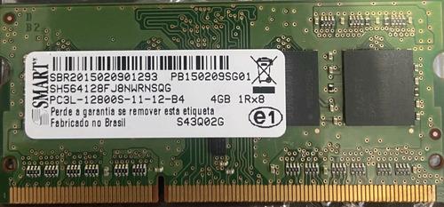 Imagem 1 de 1 de Memória Ram 4gb 1x4gb Smart Sh564128fj8nwrnsqg