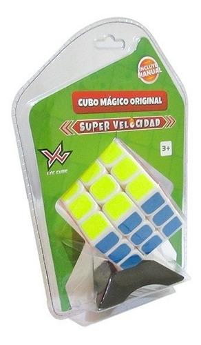 Cubo Magico 3x3x3 Ltc Rubik Juguete Original Incluye Base
