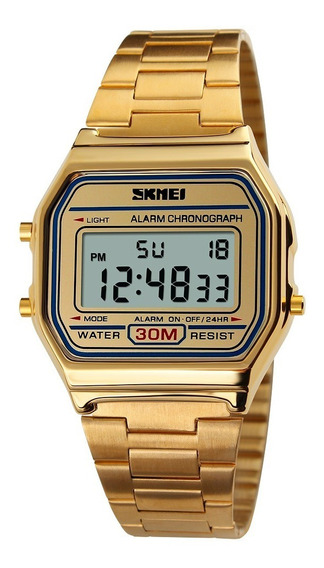Relógio Feminino Skmei 1123 Digital Esportivo Retro Original