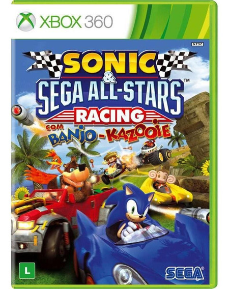 Sonic E Sega All Stars Racing Com Banjo-kazooie - Xbox 360
