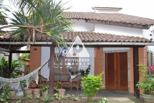 Casa Em Condomínio À Venda, 4 Quartos, 2 Suítes, 4 Vagas, Anil - Rio De Janeiro/rj - 23789
