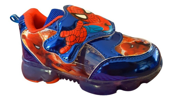 Zapatos De Spiderman Con Luces