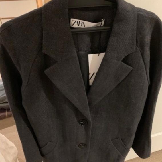 Trench Zara Nuevo 2020.gris Topo