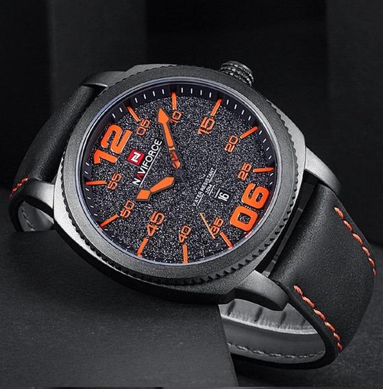 Relógio Masculino Naviforce 9127 De Pulso Original Promoção