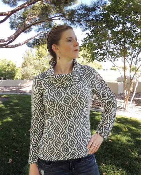 Chompa Cuello Tortuga Para Mujer 100% Alpaca, A La Moda