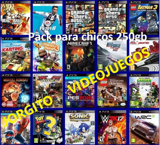 Juegos Ps3 Carga X 20 Titulos Fifa Pes Gta Mk Call Of Duty