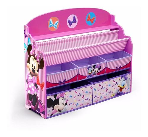 Delta Minnie Mouse Organizador Infantil Juguetes Libros