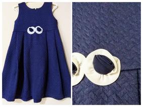 Lindo Vestido Festa Azul Menina Elegante