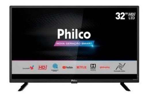 Smart Tv Led 39´ Philco Ptv39g50s, Conversor Digital, 2 Hdmi