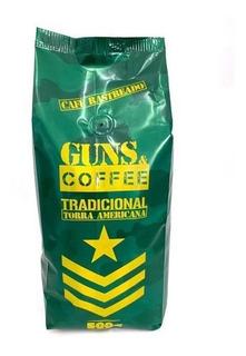 Café Gourmet Premium Tradicional Em Pó Guns & Coffee 500g