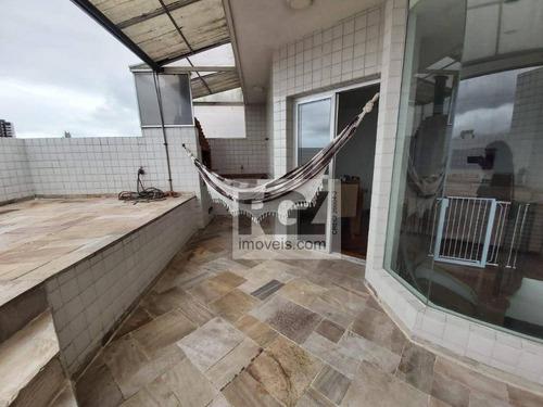 Cobertura À Venda, 220 M² Por R$ 689.000,00 - Vila Matias - Santos/sp - Co0009