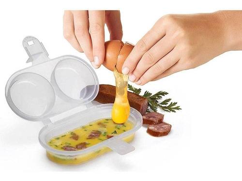 Forma Para Ovos E Omelete Para Microondas