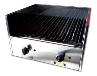 Parrilla Industrial De Mesada A Gas 60cm - Gastroequip