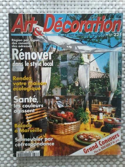 Revista Art Et Decoration - No. 335 - Textos Em Português