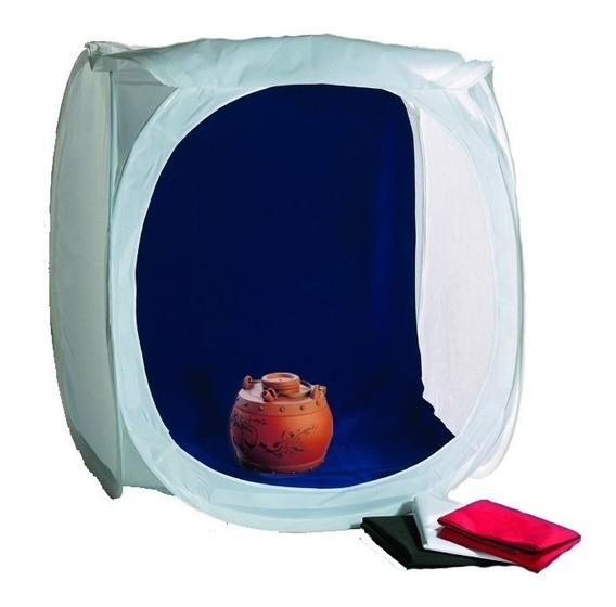Carpa Cubo Caja Luz 40x40x40 Foto Catalogo Portatil Phottix