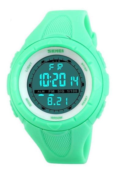 Relógio Feminino Skmei 1074 Esportivo Prova D