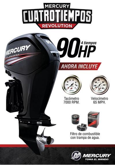 Motor Mercury 90 Hp 4t 0 Km. Quilmes!!!
