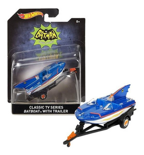 Hot Wheels Collectors Classic Tv Series Batboat Nuevo