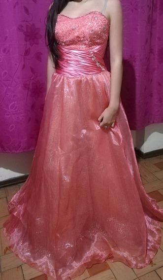 Vestido Gala Juvenil Talla 10 A 12 Niñas Entre 13 A 15 Años