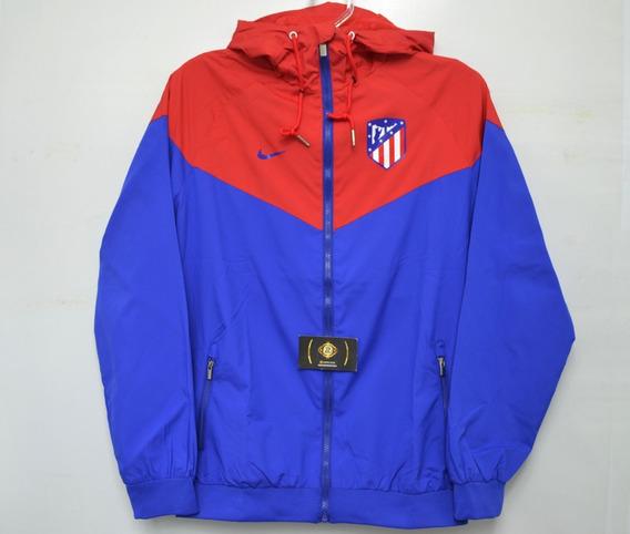 Blusa Tactel Do Atlético De Madrid Oficial - Super Desconto