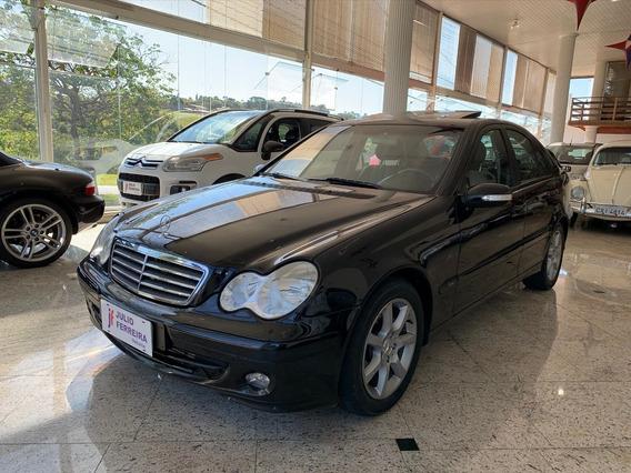 Mercedes-benz C-180 1.8 Kompressor Gasolina Preta
