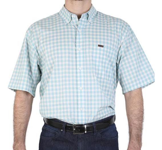 Camisa Casual Lee Hombre Manga Corta R34