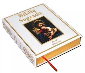 Bíblia Sagrada Católica Nossa Senhora - Edição Luxo Branca