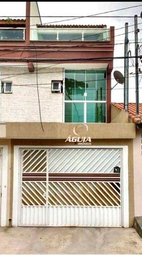 Imagem 1 de 15 de Sobrado Com 3 Dormitórios À Venda, 185 M² Por R$ 649.000,00 - Vila Marina - Santo André/sp - So1591