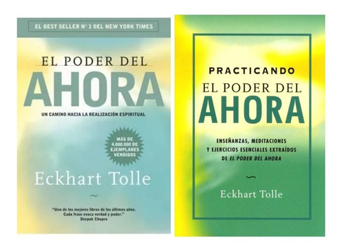 Pack Eckhart Tolle - El Poder Del Ahora + Practicando