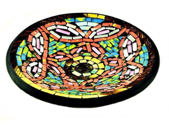 Plato Venecitas Redondo 19cm Mesa Deco Moderno 151.005024a