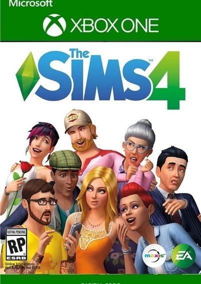 The Sims 4 Xbox One X1 Key Código 25 Dígitos Envio Rápido
