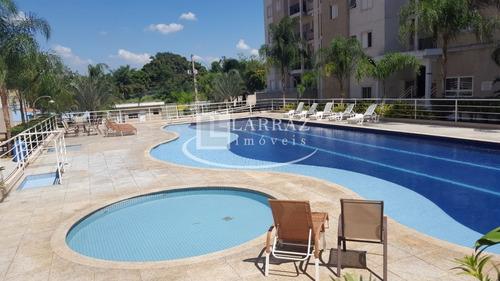 Apartamento Para Venda No Monte Alegre Condominio Smile Village, 2 Dormitorios Em 58 M2 De Area Privativa. Portaria 24h E Lazer Completo - Ap01363 - 33893993