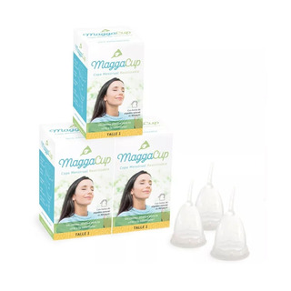 Copita Copa Menstrual Reutilizable Maggacup X 3 Unidades