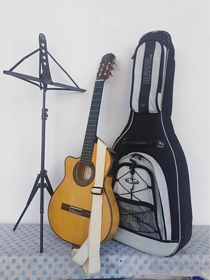 Guitarra Alpujarra 86 Kec Completa!!! Para Zurdo!!!