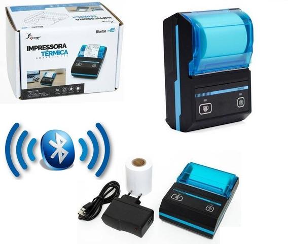 Mini Impressora Térmica Não Usa Tinta Bluetooth Usb Bateria