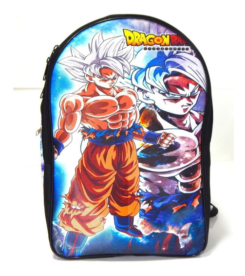 Dragon Ball Super Mochila Goku Doctrina Egoista Sayayin Dios