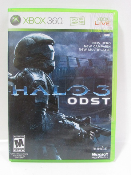 Halo 3 Odst - Game Xbox 360 Original Americano Mídia